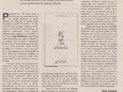 Zhaole – Journal VOIR
